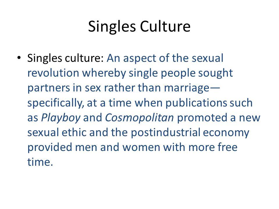 Singles Culture