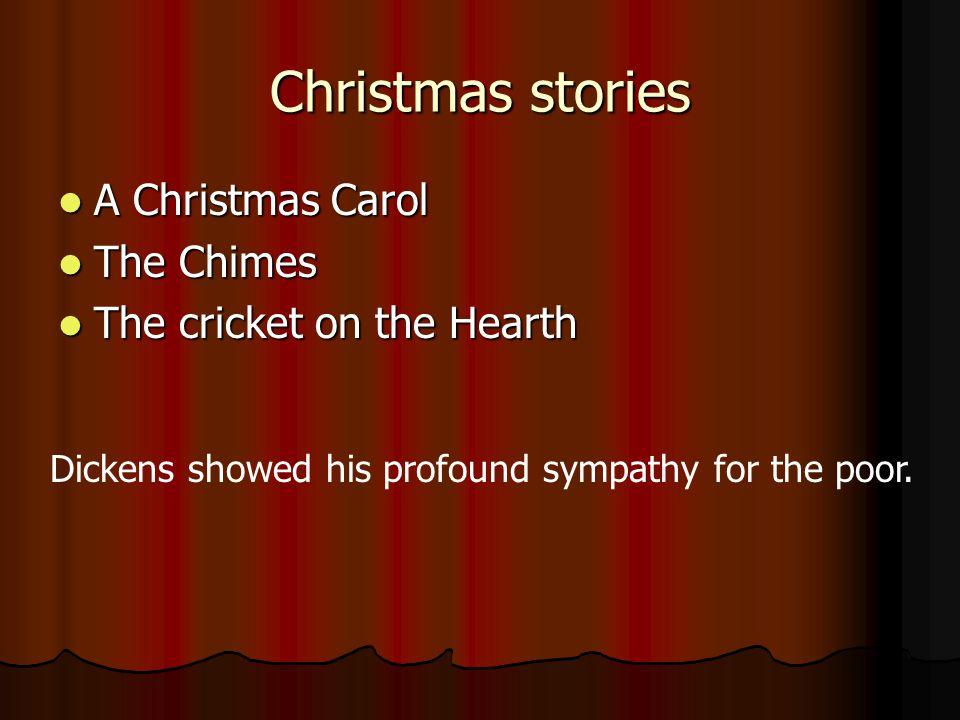 Christmas stories A Christmas Carol The Chimes