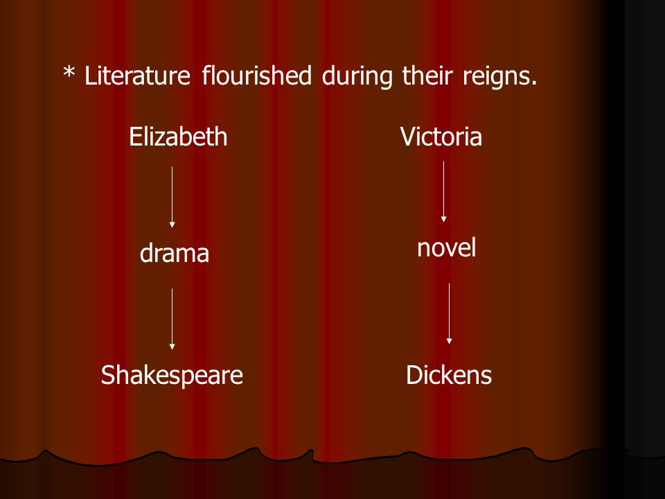 * Literature flourished during their reigns.