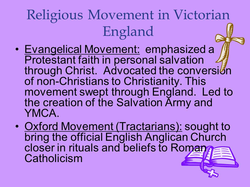 Religious Movement in Victorian England