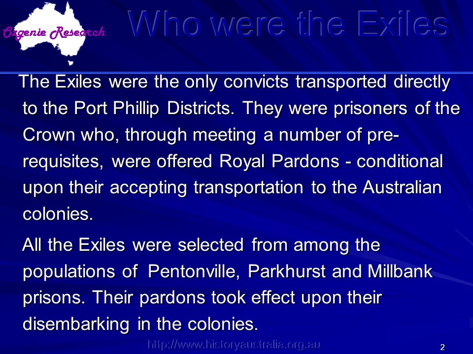 Who were the Exiles