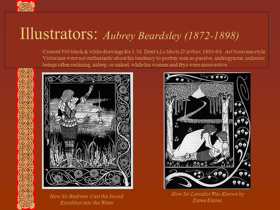 Illustrators: Aubrey Beardsley (1872-1898)