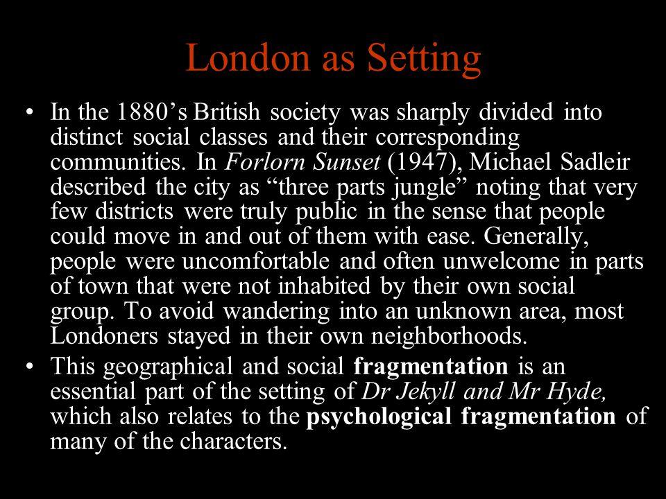 London as Setting