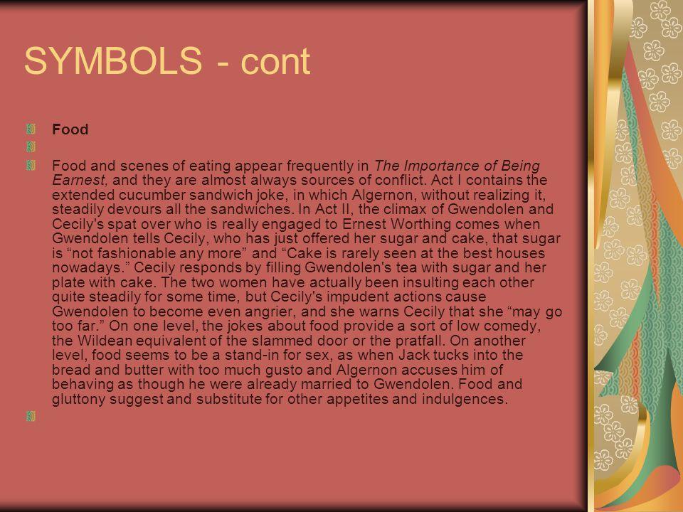 SYMBOLS - cont Food.