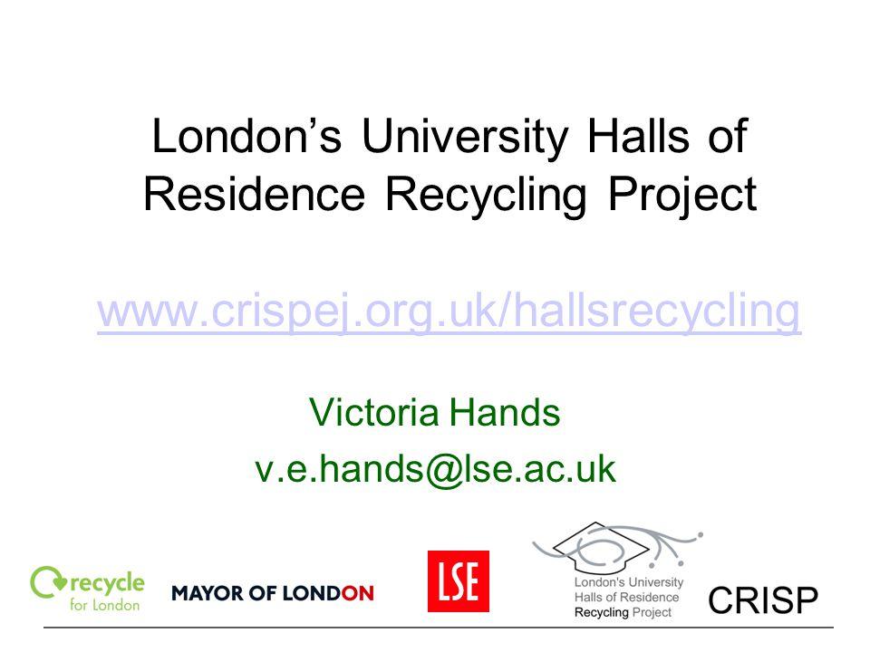 Victoria Hands v.e.hands@lse.ac.uk