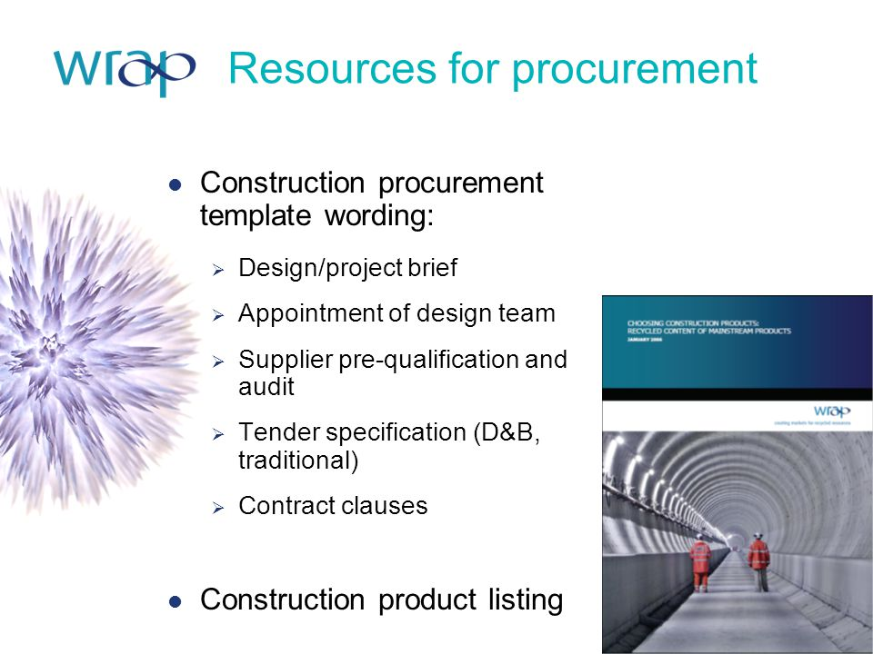 Resources for procurement