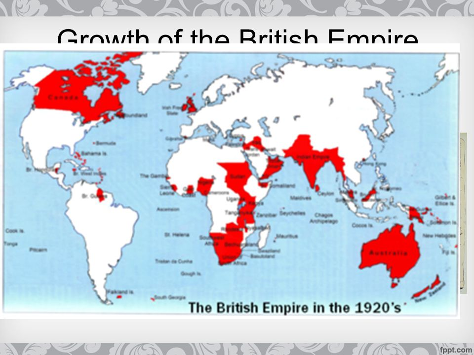 Growth of the British Empire