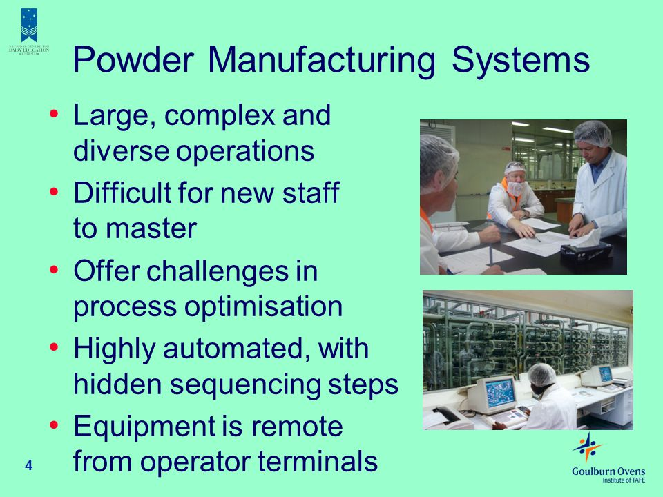 Powder Manufacturing Systems