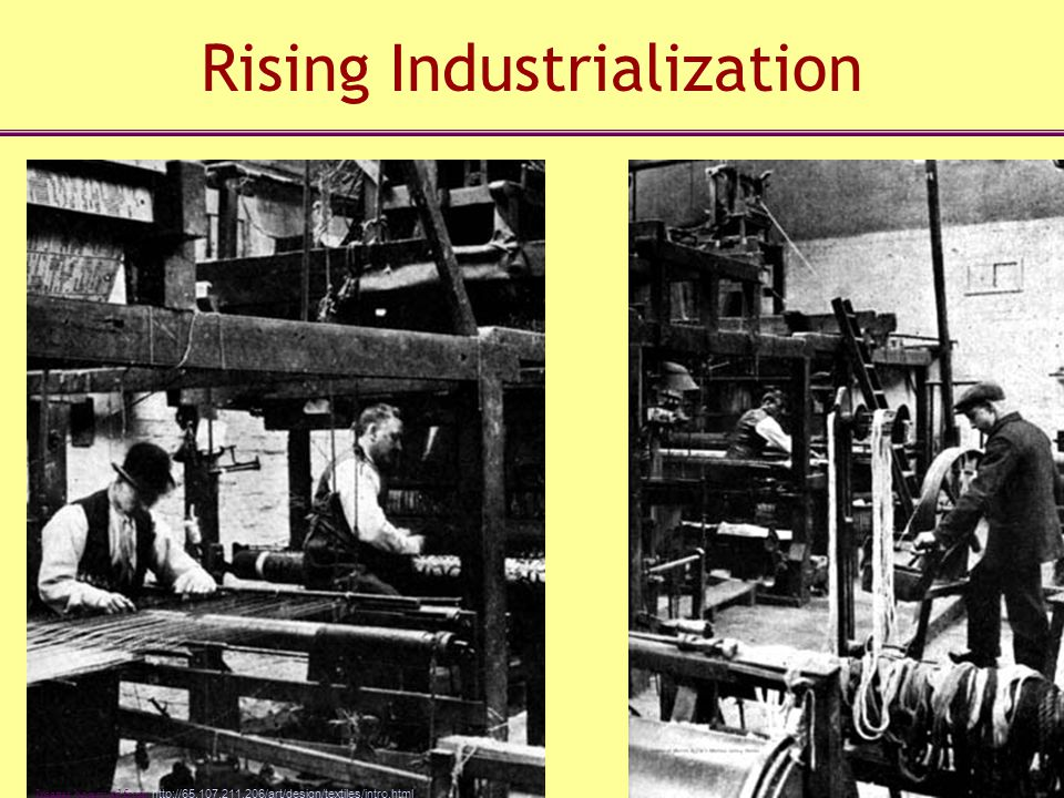 Rising Industrialization