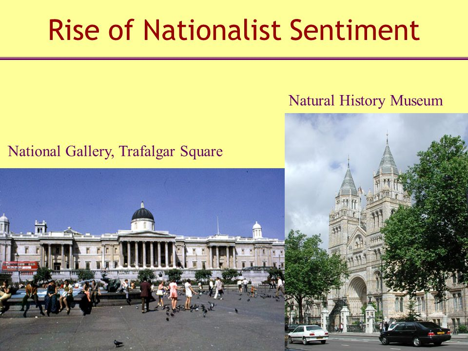 Rise of Nationalist Sentiment