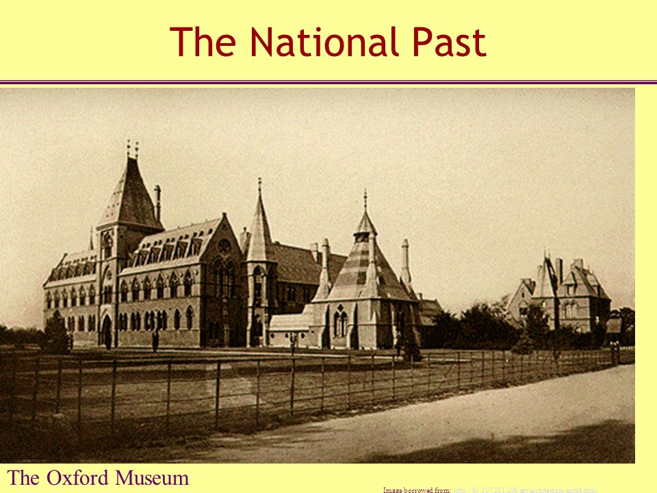 The National Past The Oxford Museum