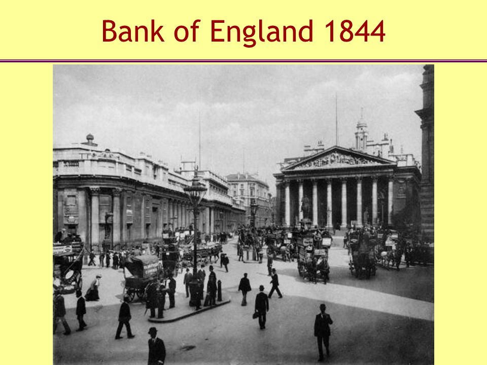 Bank of England 1844