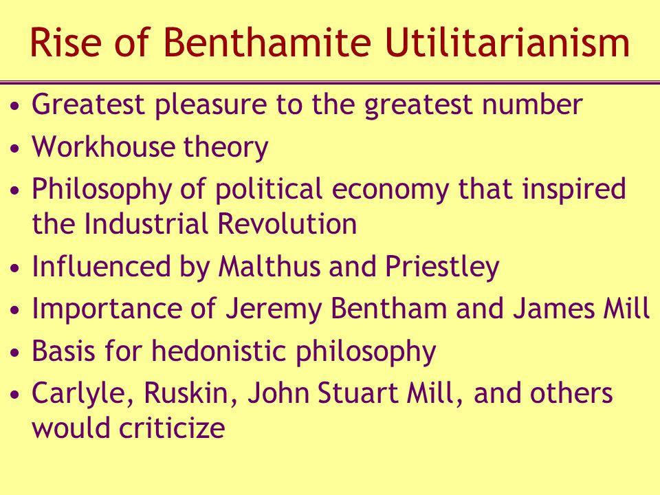 Rise of Benthamite Utilitarianism
