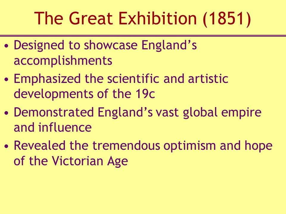 The Great Exhibition (1851)