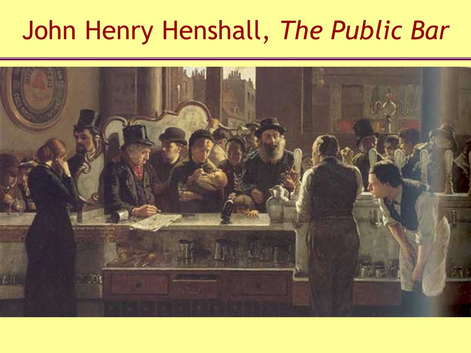 John Henry Henshall, The Public Bar