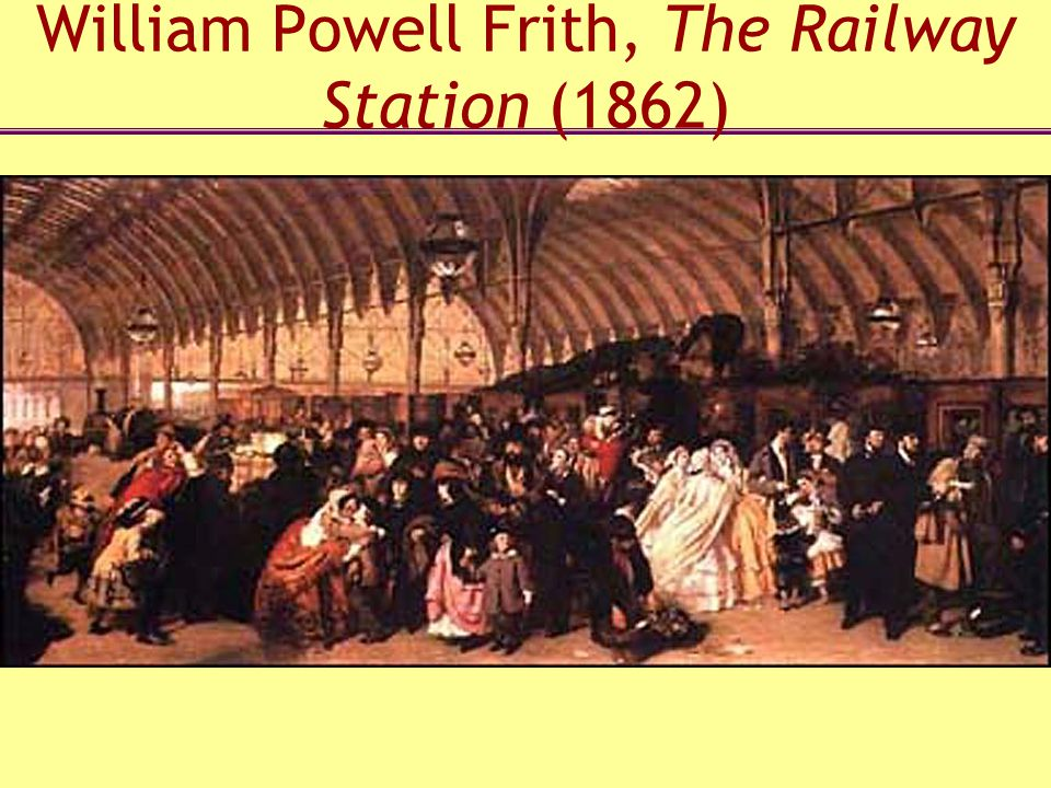 William Powell Frith, The Railway Station (1862)