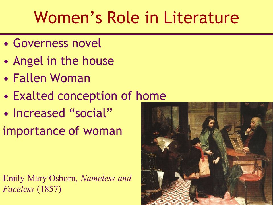 Women's Role in Literature