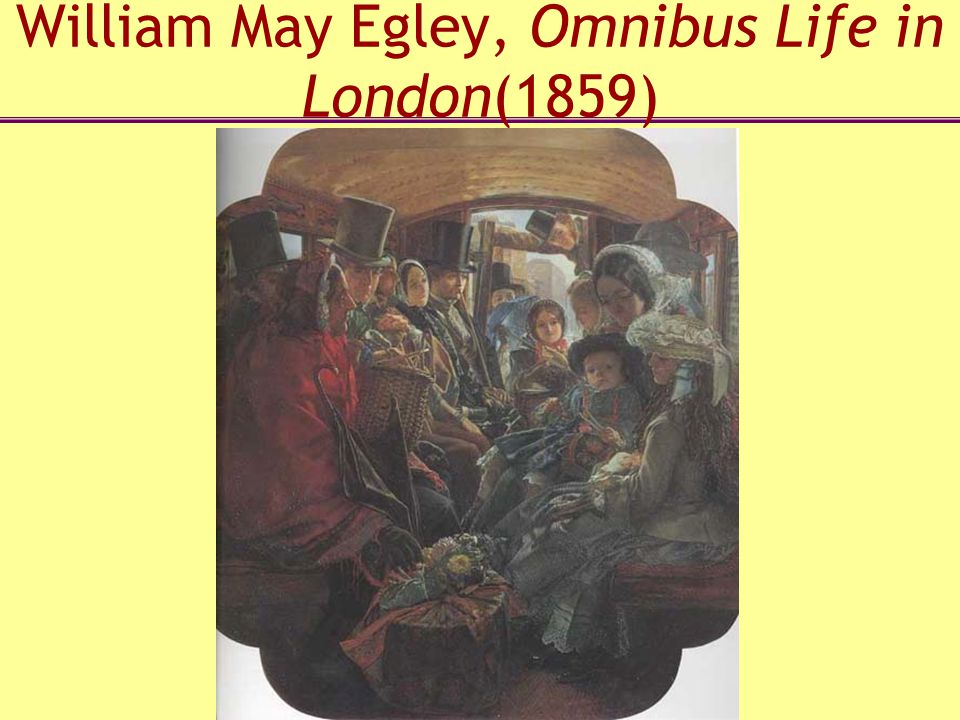 William May Egley, Omnibus Life in London(1859)