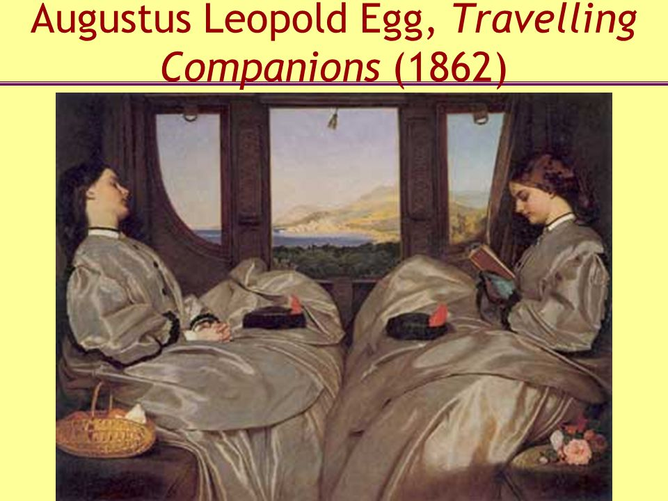 Augustus Leopold Egg, Travelling Companions (1862)