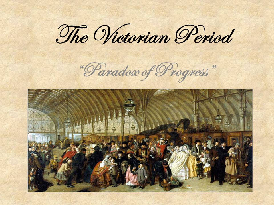 The Victorian Period Paradox of Progress