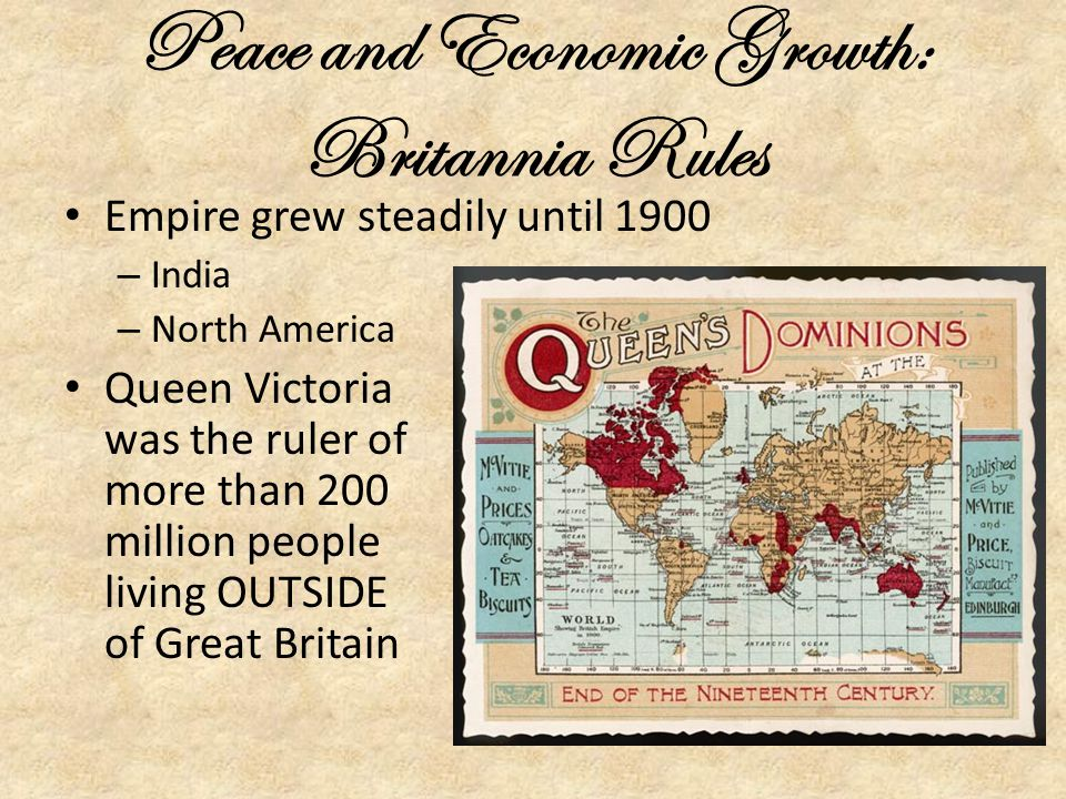 Peace and Economic Growth: Britannia Rules
