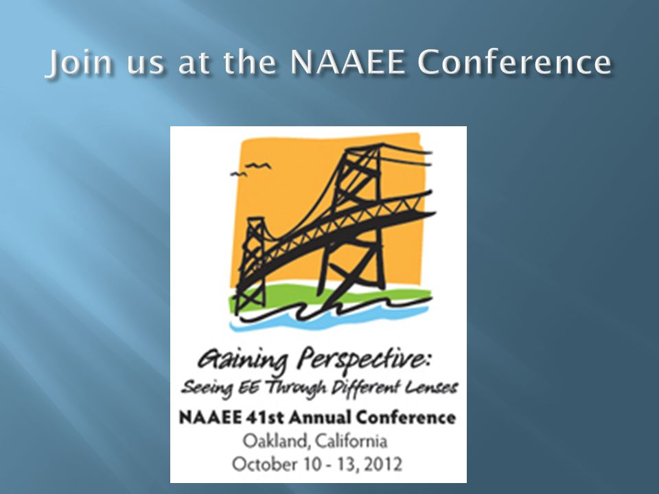Join us at the NAAEE Conference