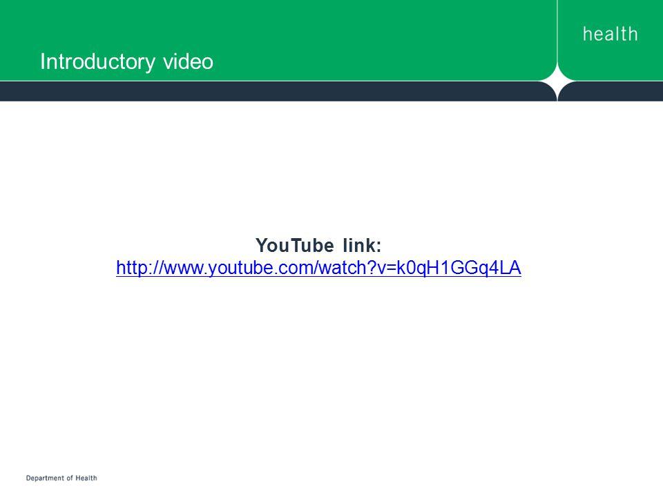 YouTube link: http://www.youtube.com/watch v=k0qH1GGq4LA