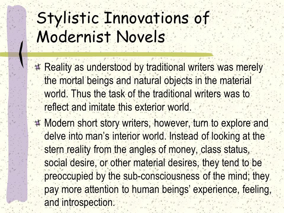 Stylistic Innovations of Modernist Novels