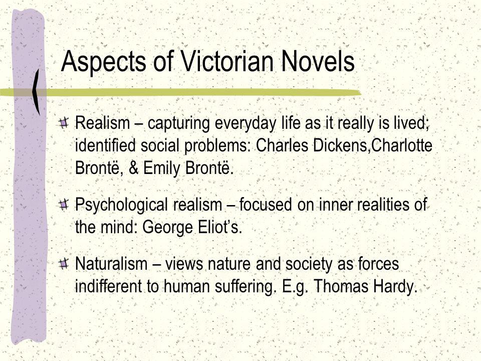 Aspects of Victorian Novels