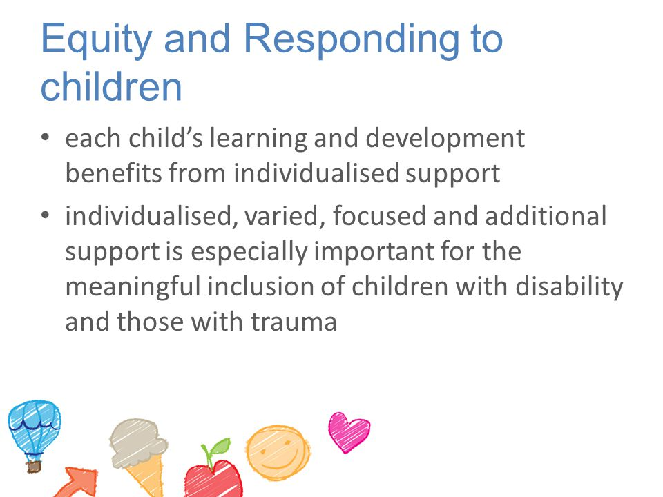 Equity and Responding to children