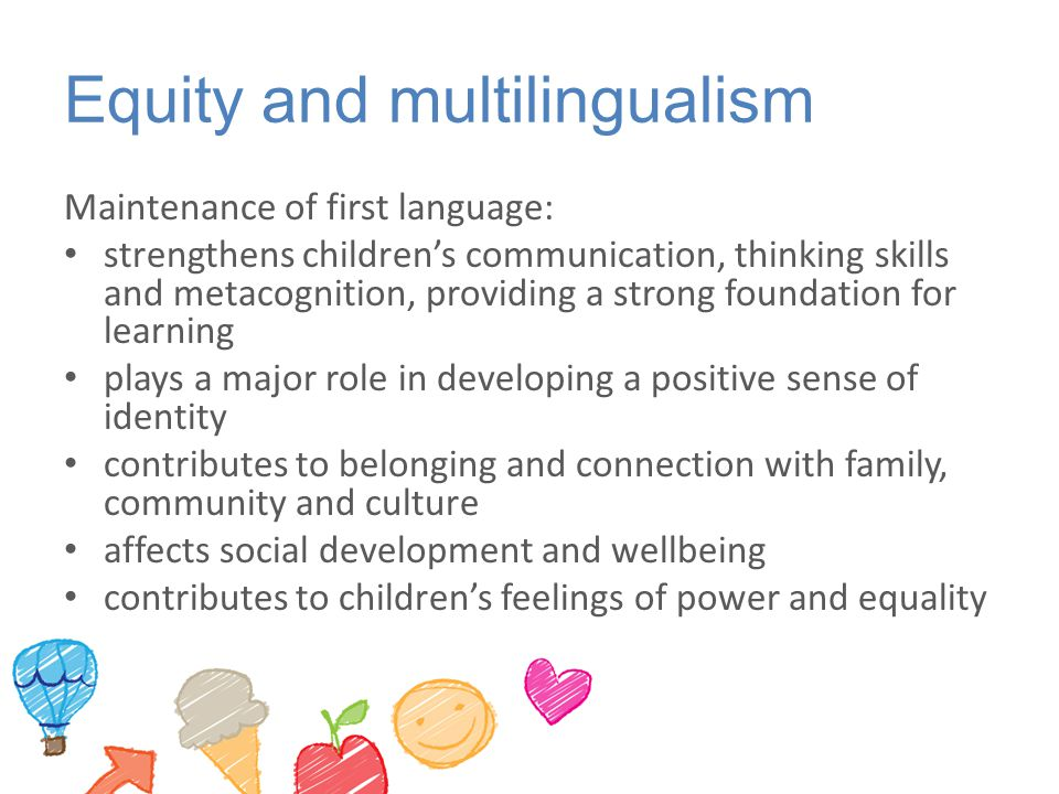Equity and multilingualism
