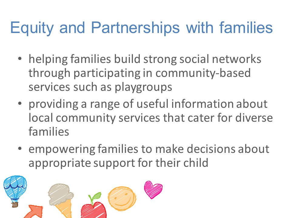 Equity and Partnerships with families