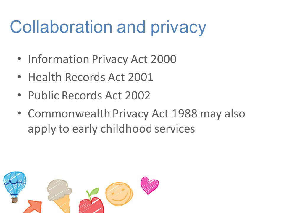 Collaboration and privacy