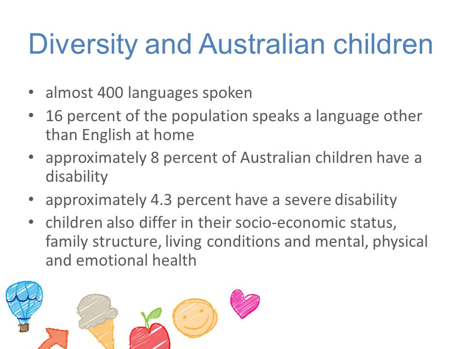 Diversity and Australian children