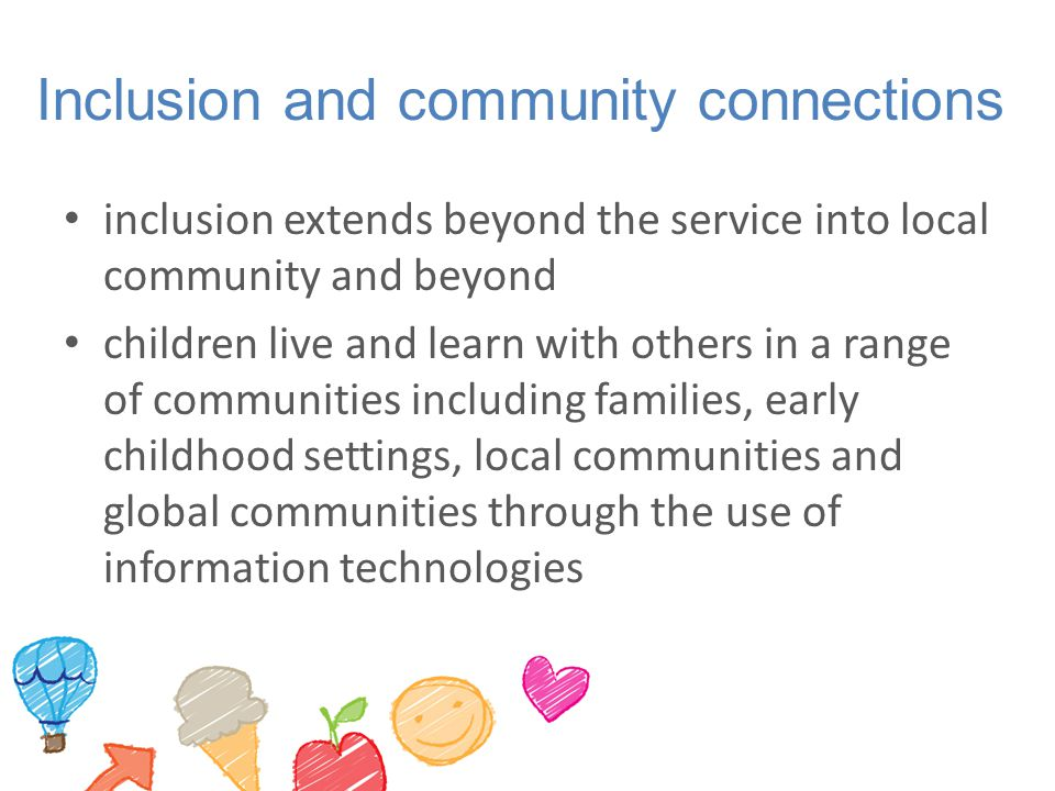 Inclusion and community connections