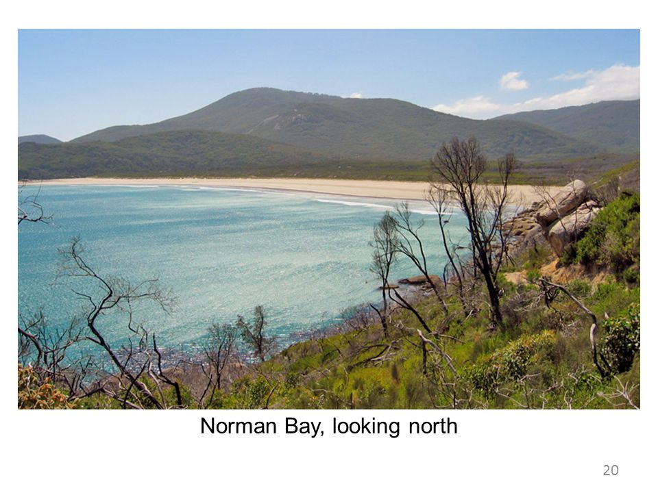 Norman Bay, looking north