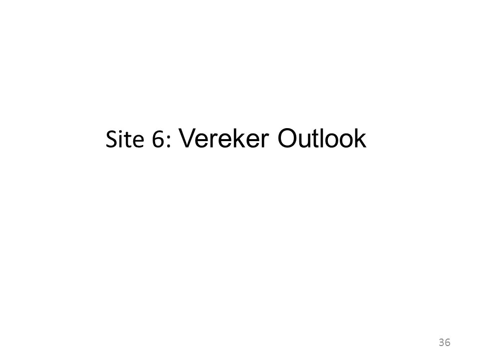 Site 6: Vereker Outlook