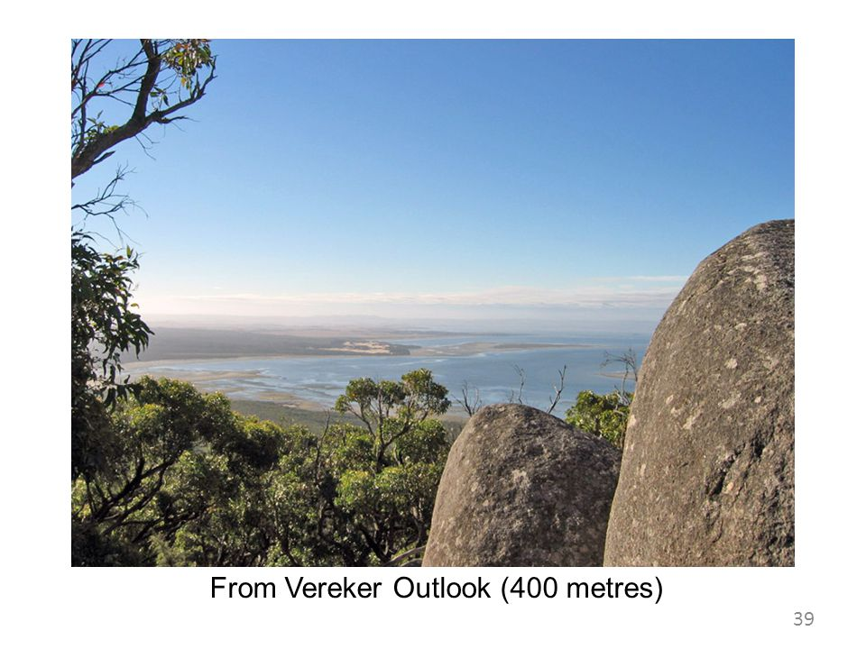 From Vereker Outlook (400 metres)