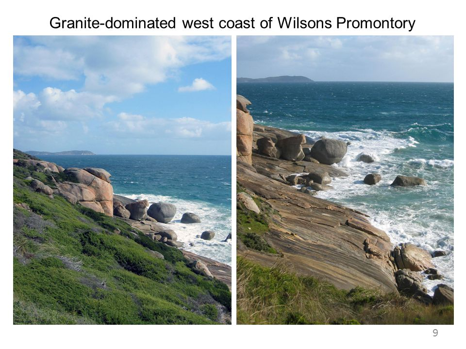 Granite-dominated west coast of Wilsons Promontory