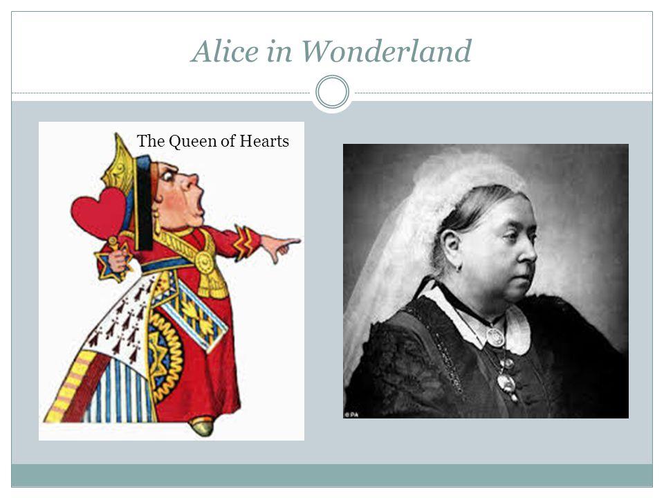 Alice in Wonderland The Queen of Hearts