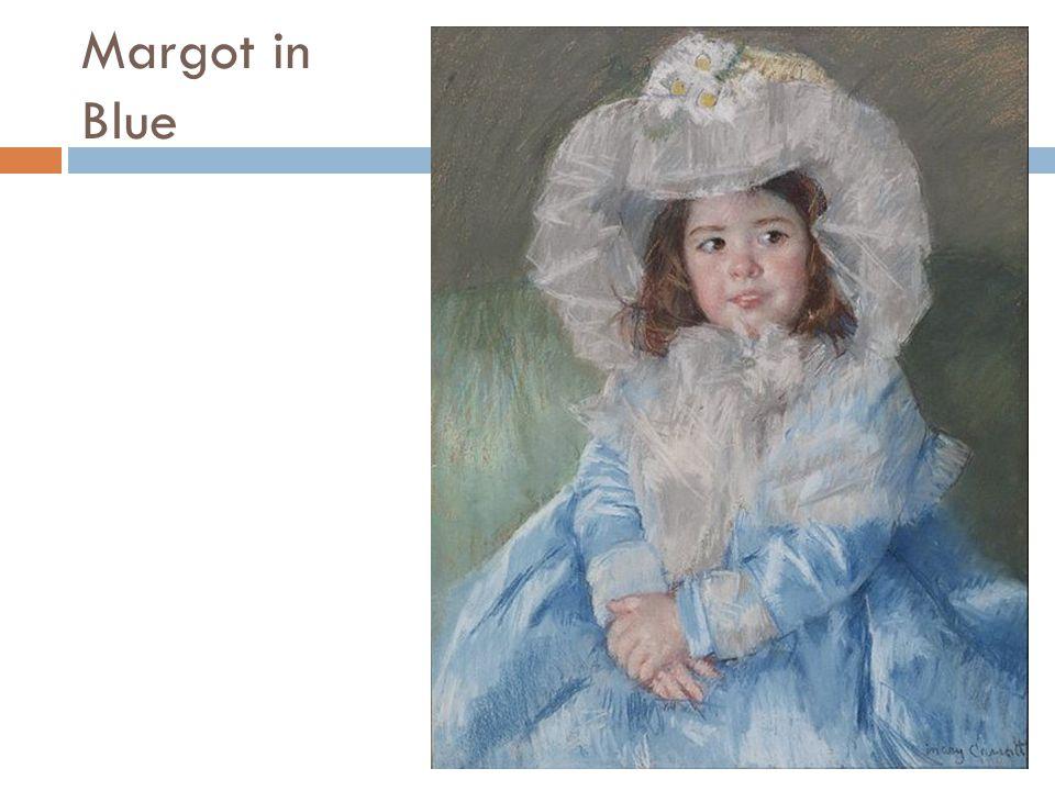 Margot in Blue