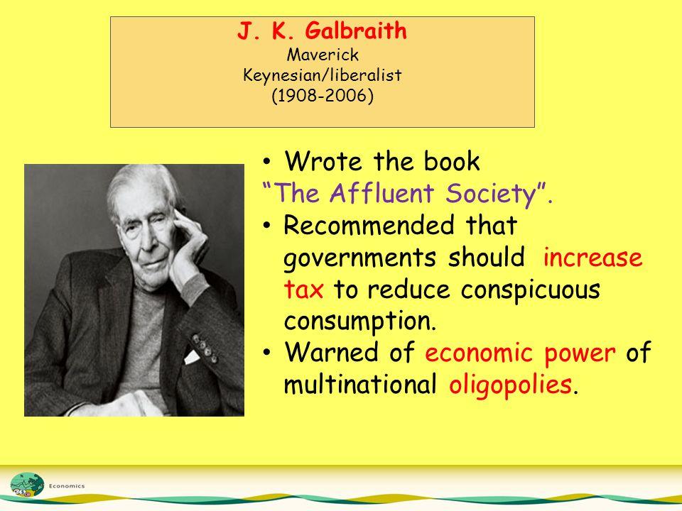 Keynesian/liberalist
