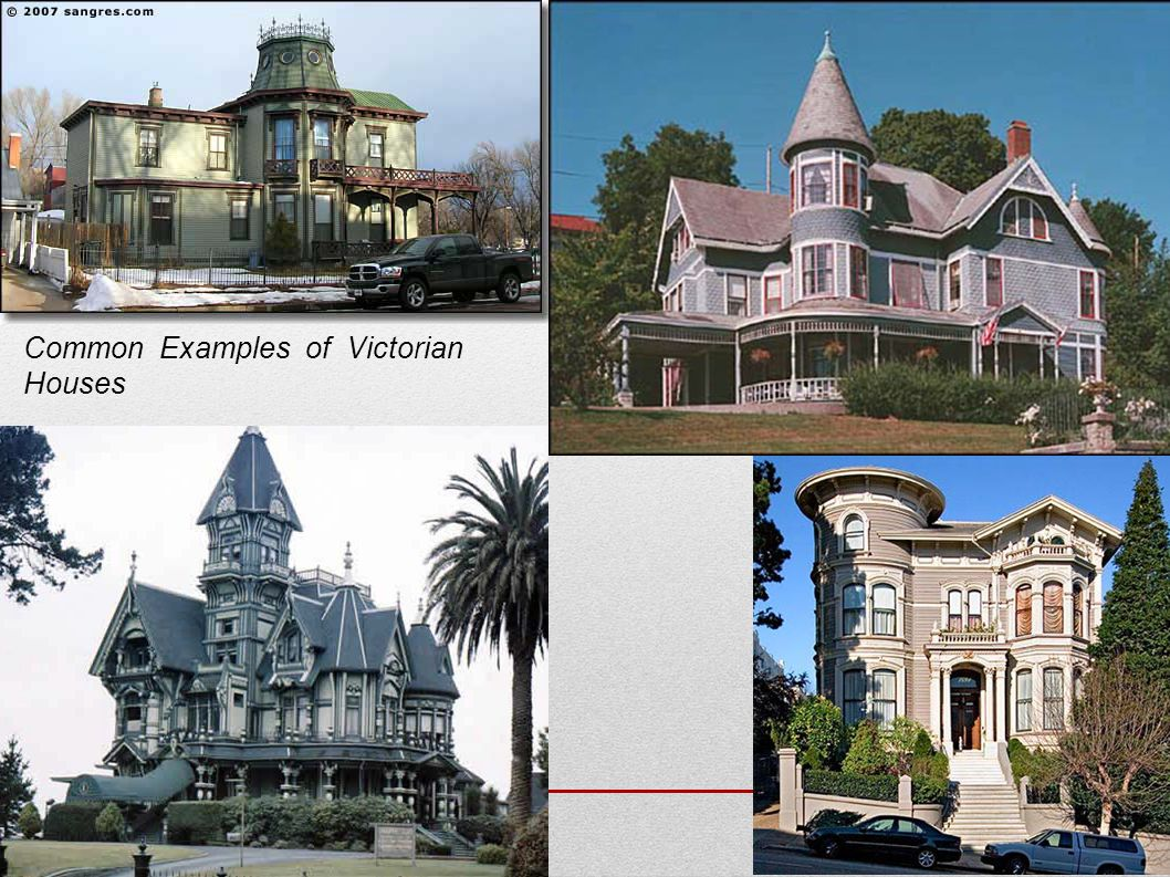 Common Examples of Victorian Houses