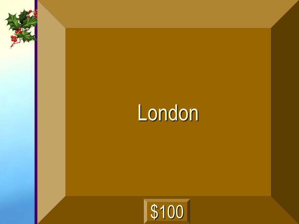 London $100