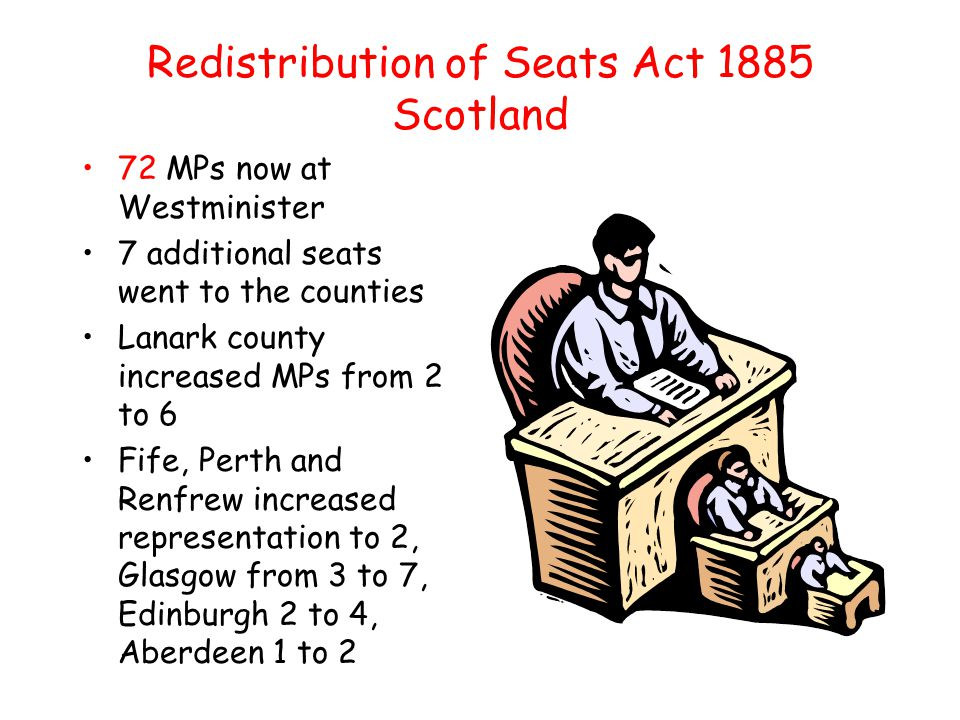 Redistribution of Seats Act 1885 Scotland