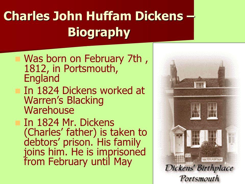 Charles John Huffam Dickens – Biography