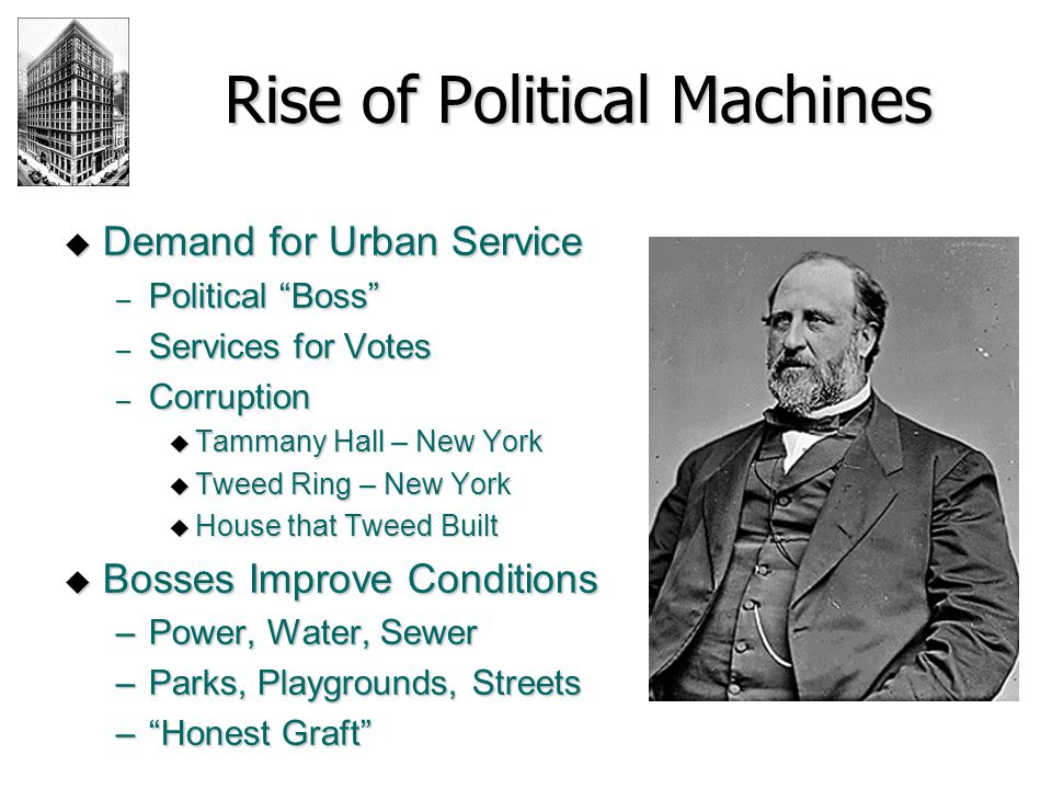 Rise of Political Machines