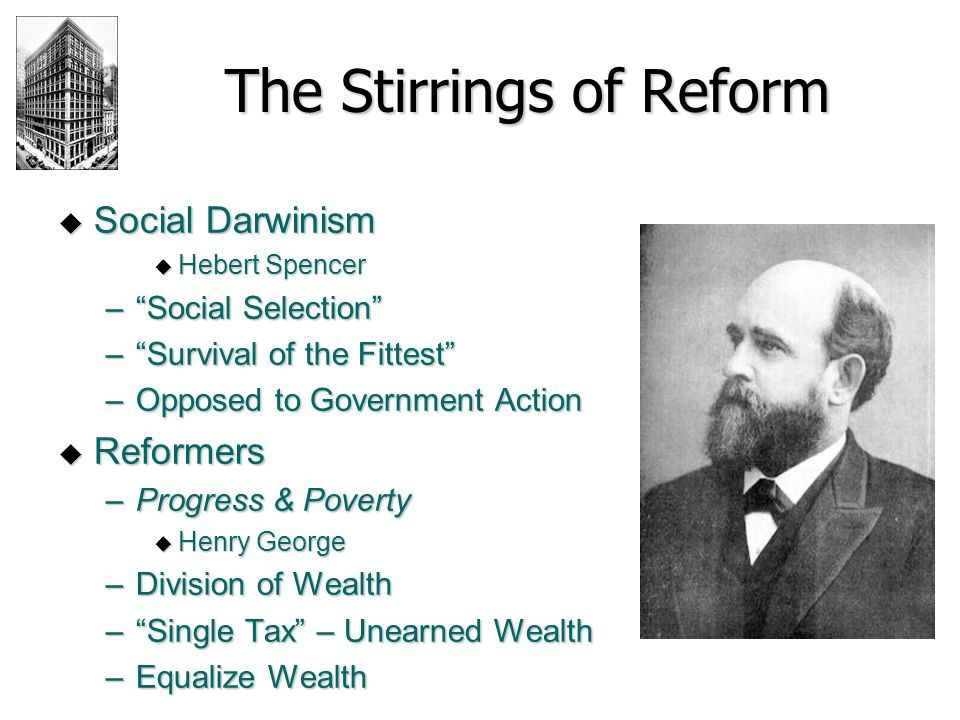 The Stirrings of Reform