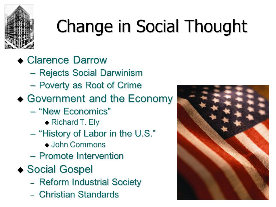 Change in Social Thought