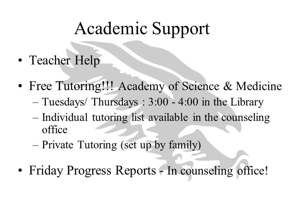 Academic Support Teacher Help